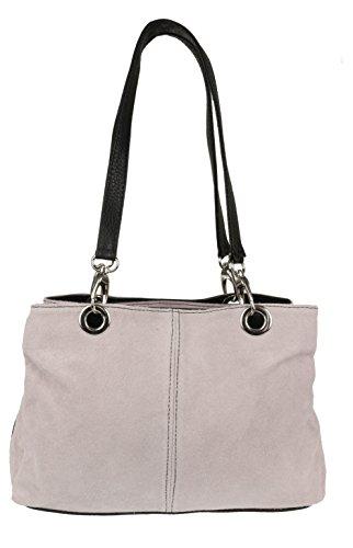Girly Handbags - Bolso al hombro para mujer rosa Pinky Nude