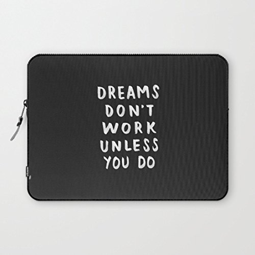 whiangfsoo-dreams-dont-work-unless-you-do-black-white-waterproof-soft-neoprene-sleeve-case-bag-pouch