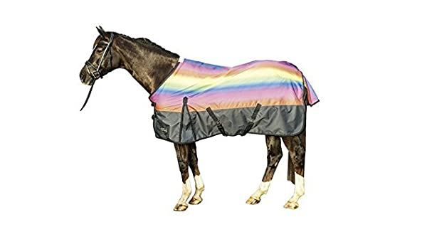 Equitheme Tyrex 600d HORSE RUG TURNOUT High Neck 300 G Free Delivery