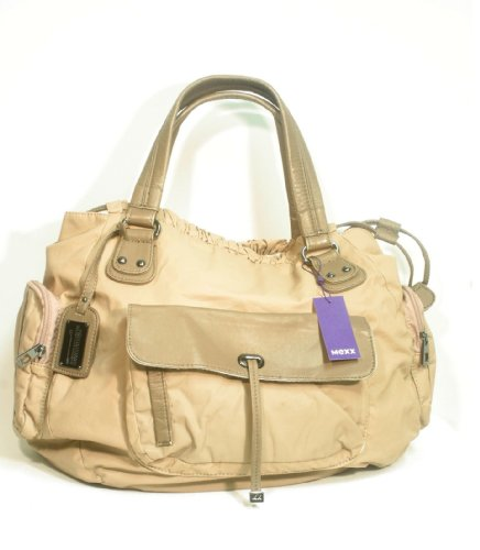Mexx Head Handtasche Tasche beige / braun Maße ca. 45x30cm