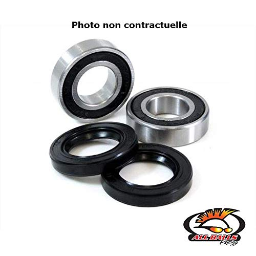 All Balls - Kit Roulements Roue Arrière Vf1100 83-86 Gl1200 Gold Wing 84-87