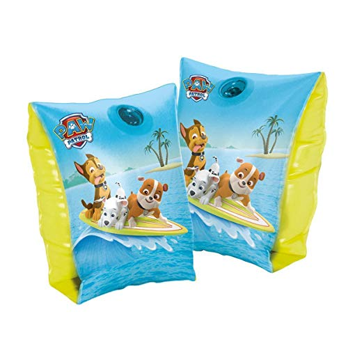 Lively Moments Schwimmflügel / Schwimmhilfen / Armbänder Paw Patrol mit Chase, Rubble und Marshall ca. 11 - 30 kg