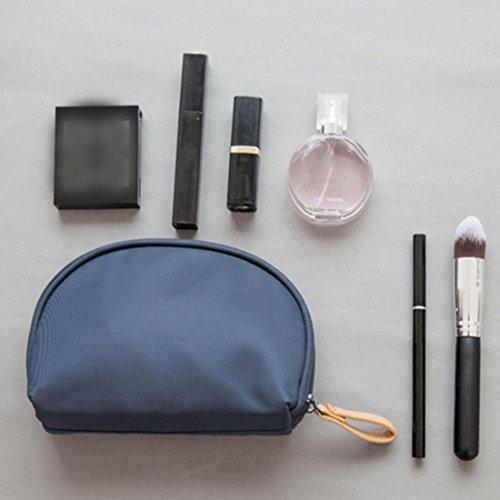 Borsa Cosmetica Per Cosmetici Borsa Per Cosmetici Estetista 15 X 11 X 5 Cm Blu Scuro