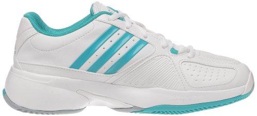 Adidas Barricade Team 2W, Schuhe Tennis Damen, Weiß Blanc (Blanc/ultver/argent)