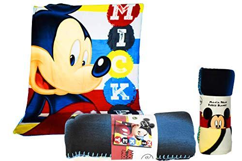 Disney topolino coperta in pile, 150 x 100 cm, multicolore, 150 x 100 cm