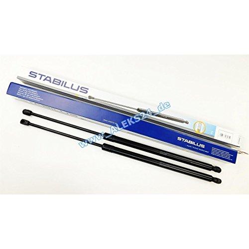 2 x Stabilus Lift O mat Lifter Ressort à gaz pour hayon de hayon arrière Silencieux 8489uf