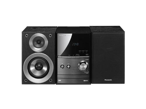 Foto Panasonic PM500 Stereo per CD/USB/iPod/iPhone, 40 W, Nero