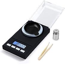 hotloop Premium Digital de alta precisión miligramo escala, 50 x 0,001 g recargando joyería Escala