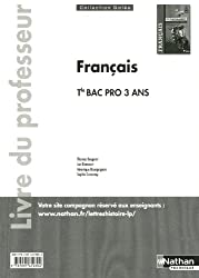 Français - Vers le Baccalauréat