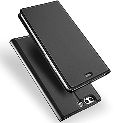 Sony Xperia XZ Premium Hülle,iBetter Schutzhülle Bookstyle für Sony Xperia XZ Premium Smartphone Flip Standfunktion Cover Hülle Case,