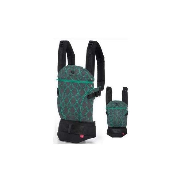 manduca First Baby Carrier > Limited Edition True Emerald < Manduca Recommended for babies from 3,5 kg bis 20 kg Integrated seat size-reducing insert for newborns and integrated head support Integrated back extension for older children 1