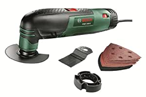 Bosch PMF 190 E Multifunction Tool with Cutting Discs, Saw Blades and Sander Sheets