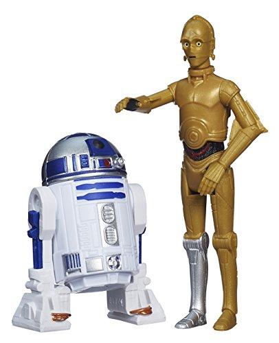 Star Wars Rebels – Mission Series – R2-D2 & C-3PO – Figurines 9 cm
