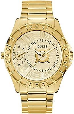 Reloj Guess Chrome W1298G1 para Hombre, Dorado con Caja de 50 mm