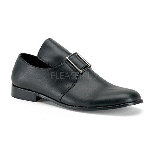 Higher-Heels Funtasma Siedler-Schuhe Pilgrim-10 mattschwarz Gr. 46 bis 47