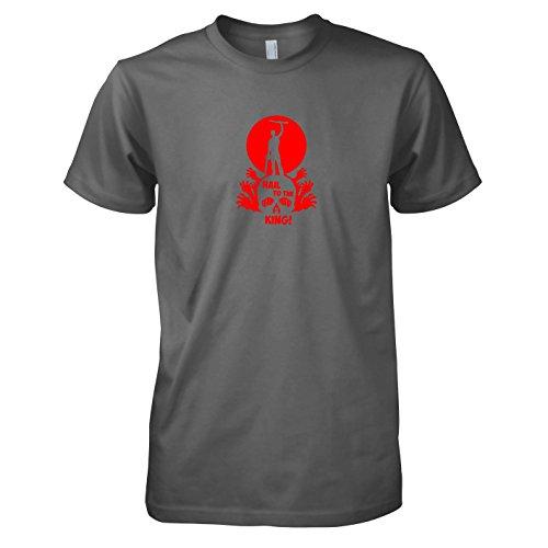TEXLAB - Hail to the King - Herren T-Shirt Grau
