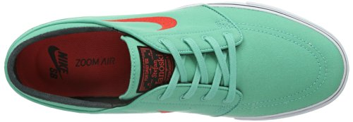 NIKE Zoom Stefan Janoski, Scarpe da skateboard Uomo Turchese (Türkis (Crystal Mint/Light Crimson/Black))