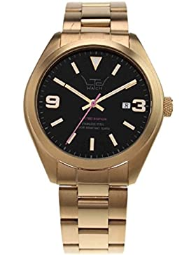 LTD WATCH Unisex-Armbanduhr Steel Ex Analog Edelstahl gold 280303