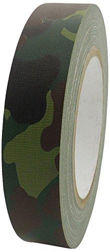 Rs195cam25 x 25 Camouflage-Muster, 25 mm x 25 m, mattes Finish, wasserdicht, Forest, Grün