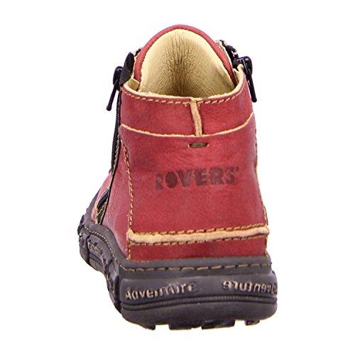 Rovers  Traction, bottes & bottines femme Bordeaux