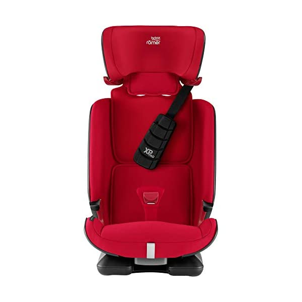 Britax Römer car seat 9-36 kg, ADVANSAFIX Z-LINE Isofix Group 1/2/3, Fire Red Britax Römer Made in germany Flip & grow - change from buckle to secureguard Excellent security concept - with xp-pad, secureguard and pivot link isofix system 4