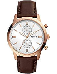64181af48536 Fossil Reloj Cronógrafo para Hombre de Cuarzo con Correa en Cuero FS5468