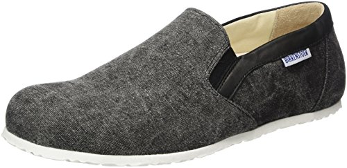 Birkenstock Shoes Herren Jenks Slipper, Grau (Black), 42 EU