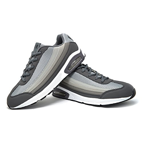 Xelay ,  Herren Sneaker Low-Tops Grau / silberfarben