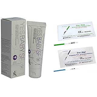 Yes Baby Sperm Friendly Lubricant 50ml + 10 Ovulation & 5 Pregnancy Tests