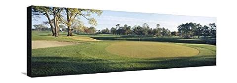 Sand Trap in a Golf Course, Westport Golf Gourse, North