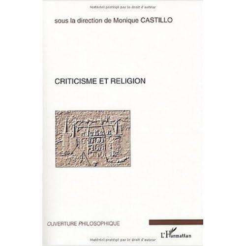 Criticisme et religion