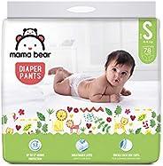 Amazon Brand - Mama Bear Baby Diaper Pants, Small (S) - 78 Count