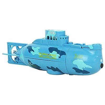 eMart Mini RC Elektro-Spielzeug Fernbedienung Boot U-Boot-Schiff Wasserdicht Tauchen in Wasser-Geschenk für Kinder - von eMart Tech