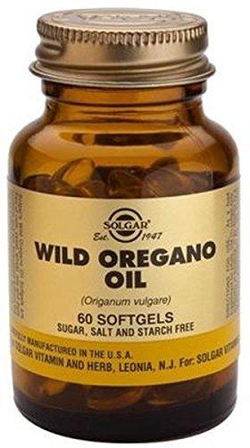 Aceite Orégano Silvestre 60 perlas vegetales Solgar