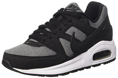 Nike Air Max Command Flex (Gs), Scarpe da Corsa Bambino Multicolore (Black/Black/White)