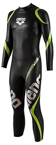 Arena 1A629 - костюм мужской триатлон, неопрен, черный (черный), большой