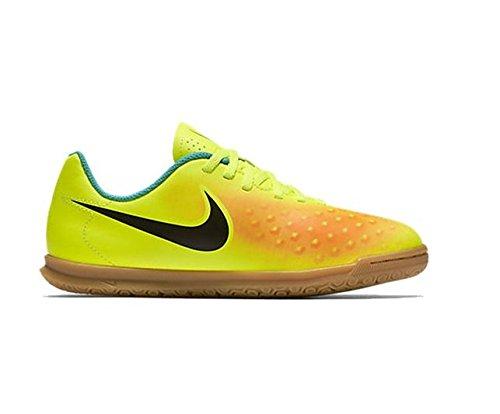 Amarillo 38.5 EU Nike Jr Magistax Ola II IC Scarpe da Calcio Unisex a3p