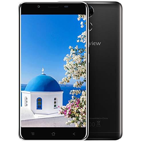 Blackview P2 - Smartphone de 5.5' FHD(Octa Core, RAM de 4 GB, memoria de 64 GB, Batería de 6000mAh, Cámara de 13 MP, Dual SIM, Android 7.0 Telefono Movil Libres, Fingerprint Recognition/GPS/OTG/Brújula/Wifi/Bluetooth