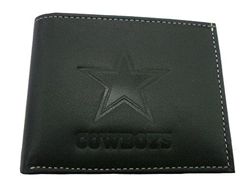 NFL Dallas Cowboys 7wltb3808wallet, Falttür, Dallas Cowboys, schwarz ()