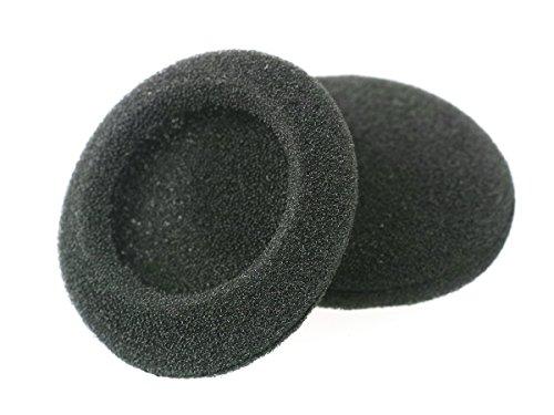 WEWOM 2 Ersatz Universal Schaumstoff Polster für Kopfhörer, Durchmesser: 35mm - 2