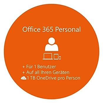 Microsoft Office 365 Personal Multilingual | 1 Gerät | 1 Jahresabonnement | Pcmac | Download 1