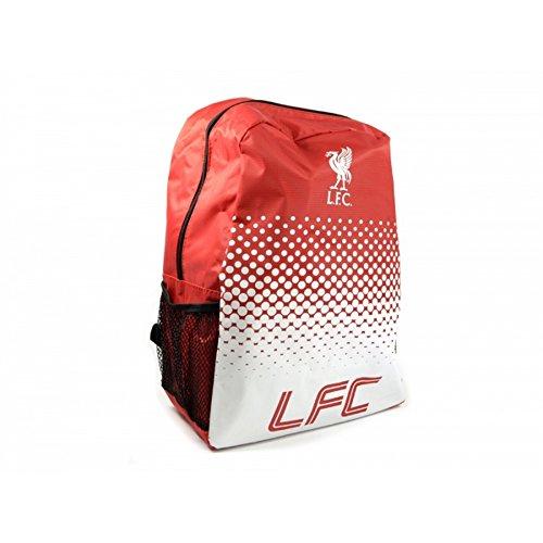 Liverpool FC Official Football Fade Design Backpack/Rucksack (Einheitsgröße) (Rot/Weiß)