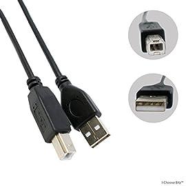 Cavo USB stampante piombo maschio A a B Alta velocità 2.0 Epson Kodak HP lungo