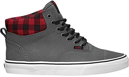 Vans Unisex-Erwachsene U Era Hi Mte Hightop Sneaker Nubuck Grey