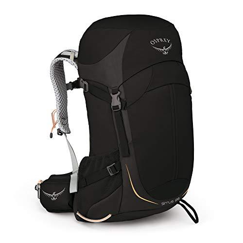 Osprey Sirrus 26 belüfteter Wanderrucksack für Frauen - Black (O/S)