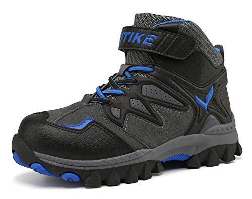 Elaphurus Wanderstiefel Kinder Winterschuhe Wanderschuhe Jungen Trekking Schuhe Warm Gefüttert Stiefel Schnee Outdoor
