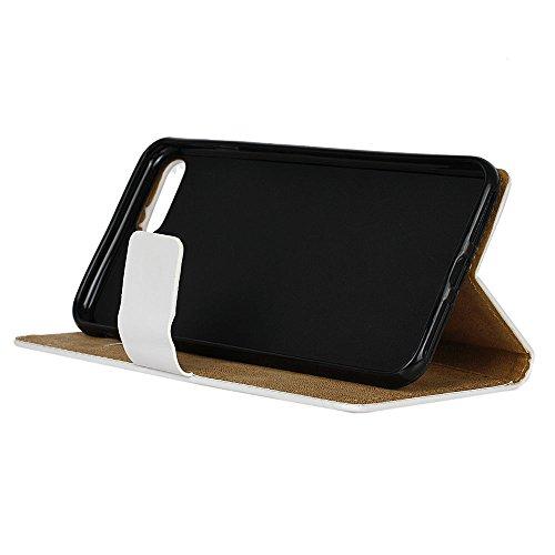 Voguecase® Pour Apple iPhone 7 4,7 Coque, Étui en cuir synthétique chic avec fonction support pratique pour iPhone 7 4,7 (fermeture éclair)de Gratuit stylet l'écran aléatoire universelle coeur rouge 02