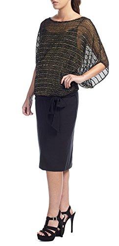 Isa Short Black Pencil Skirt