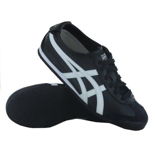 Asics Schuhe Mexico 66 Unisex Black/White