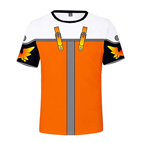 Kurzarm Herren Ports T-Shirt, Königreich Herz 3D-Druck Kurzarm, übergroße Code T-Shirt Herren Casual Top-XXS-4L,B,XXXXL
